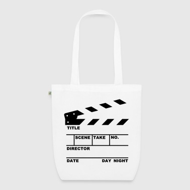 clapperboard (writable flex) - EarthPositive Tote Bag