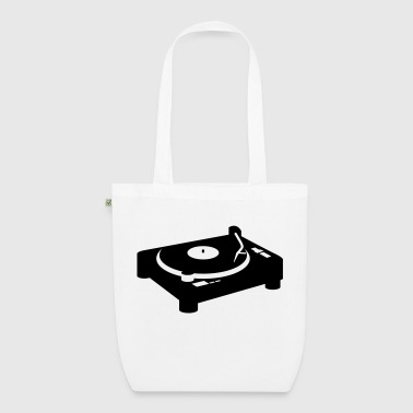 Turntable turntable DJ CD Vinyl - EarthPositive Tote Bag