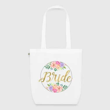 bride_round_flowers - EarthPositive Tote Bag