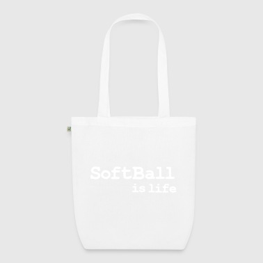 softball is life - EarthPositive Tote Bag