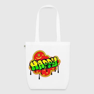 Happy - EarthPositive Tote Bag