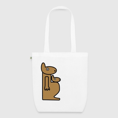 Kangaroo - EarthPositive Tote Bag