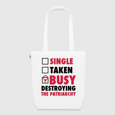 SINGLE / FORGIVENESS / DESTROYED THE FEMINISTS - EarthPositive Tote Bag