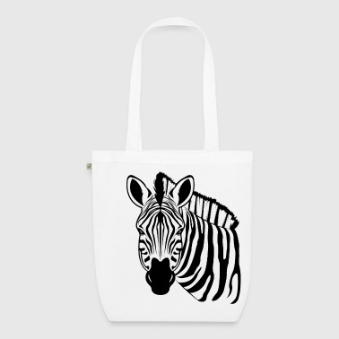 Zebra - EarthPositive Tote Bag