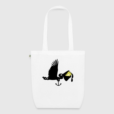 Ölpest-Pelikan / pelican oil spill (2c) - EarthPositive Tote Bag
