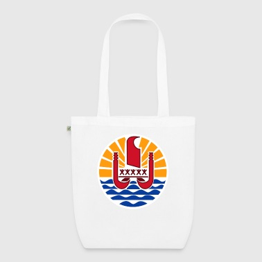 National coat of arms of French Polynesia - EarthPositive Tote Bag
