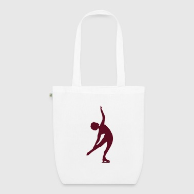 Figure Skating - EarthPositive Tote Bag