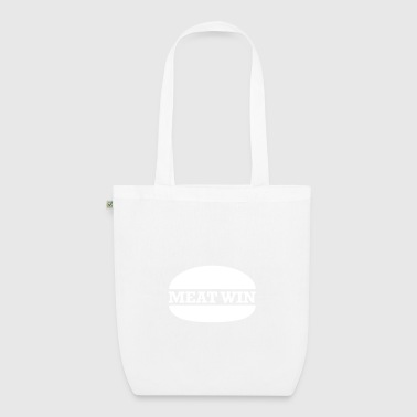 MEAT WIN Organic Tote Bag - EarthPositive Tote Bag