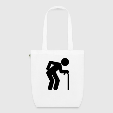 A man age at retirement age - EarthPositive Tote Bag