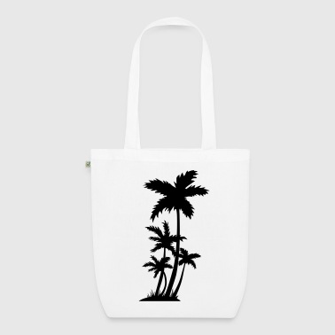 palm trees - EarthPositive Tote Bag