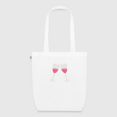 Champagne glasses - EarthPositive Tote Bag