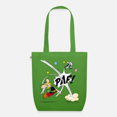 Officialbrands &amp Asterix & Obelix - Asterix fist Teenager T-Shirt - Organic Tote Bag