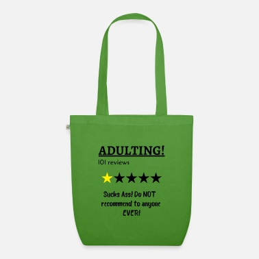 Adult Adulting - Organic Tote Bag