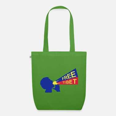 Humor Humour Fun Funny Joke Hilarious Fun Witty Laugh Cool free tibet - Organic Tote Bag