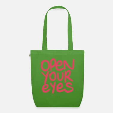 Open open your eyes - Sac en tissu bio
