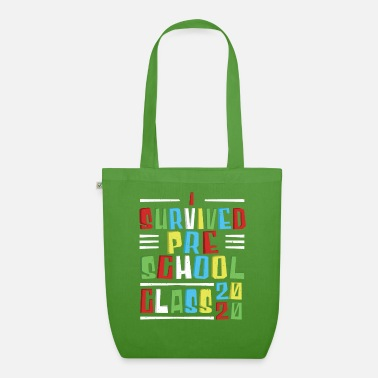 Pre School Graduation I survived the pre-school 2020 - Organic Tote Bag