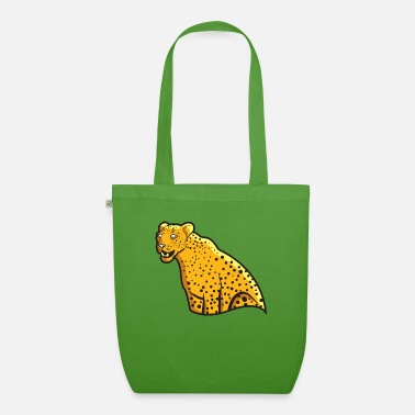 Wild Leopard Wildlife Jungle Wild Cat Gift - Bio stoffentas
