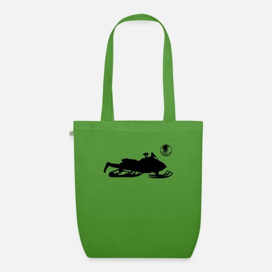 Cross Bags & Backpacks - Snowmobile - Organic Tote Bag leaf green