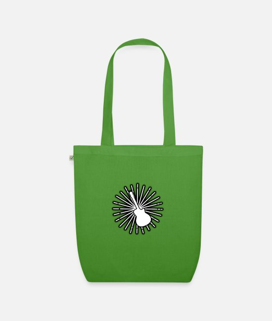 Guitar Bags & Backpacks - Guitar Star - Organic Tote Bag leaf green