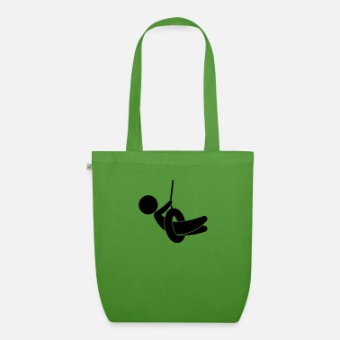 Children S Room Child On A Swing - Organic Tote Bag