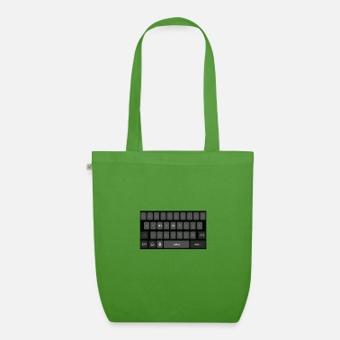 Keyboard name Mia - Organic Tote Bag