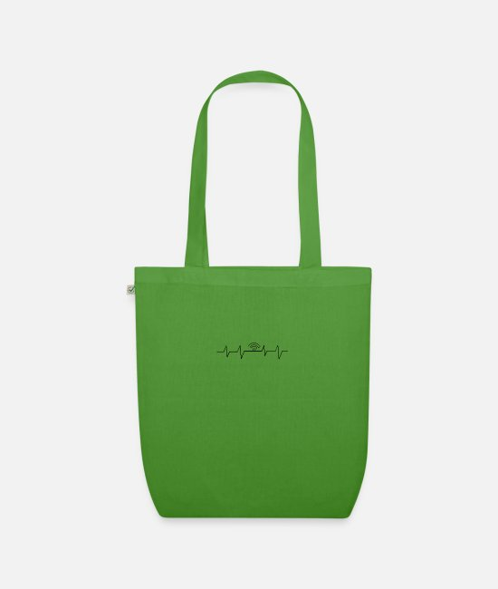 Wireless Bags & Backpacks - wireless Internet access - Organic Tote Bag leaf green
