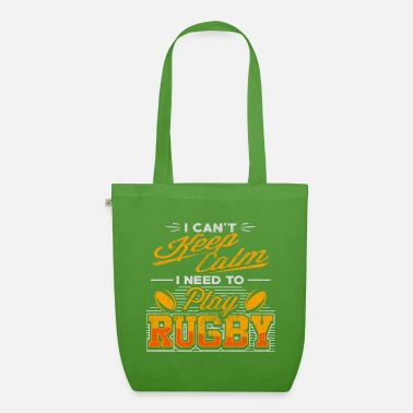Two rotating rugby balls - rugby - Organic Tote Bag