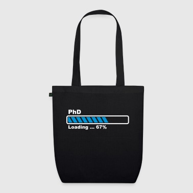 PhD loading bar - EarthPositive Tote Bag