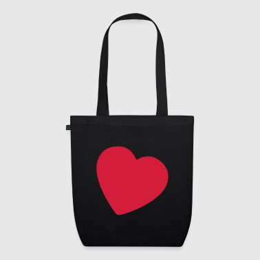little heart EN - EarthPositive Tote Bag
