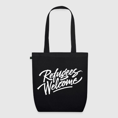 refugees welcome  - EarthPositive Tote Bag