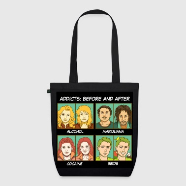 Bird addicts meme - EarthPositive Tote Bag