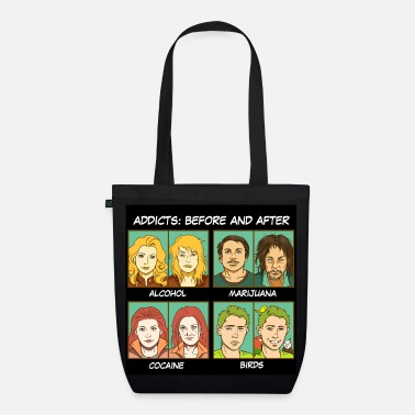 Meme Bird addicts meme - EarthPositive Tote Bag