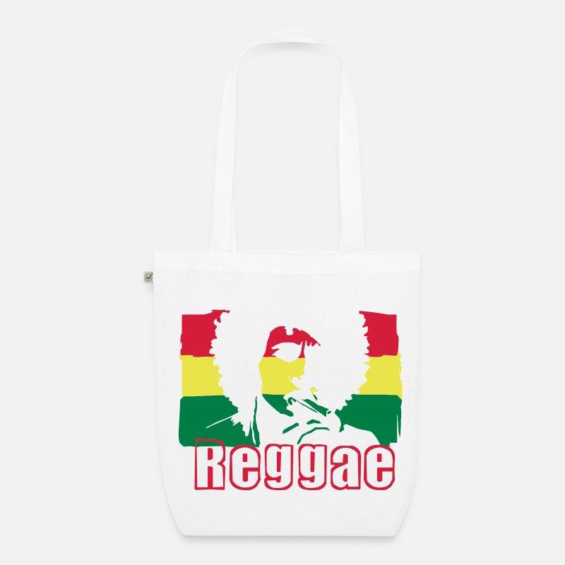 Reggae musiikkia Jamaikan lippu. Luomu-kangaskassi  1bd19ff147