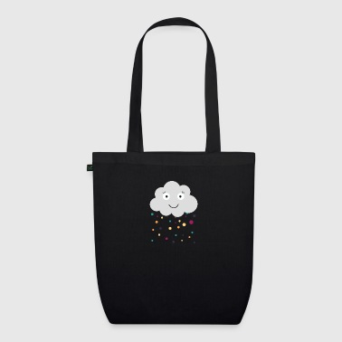 cloud with confetti - EarthPositive Tote Bag