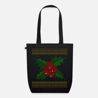 Knitted Mistletoe - EarthPositive Tote Bag