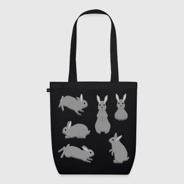 Grey Rabbit grey - EarthPositive Tote Bag