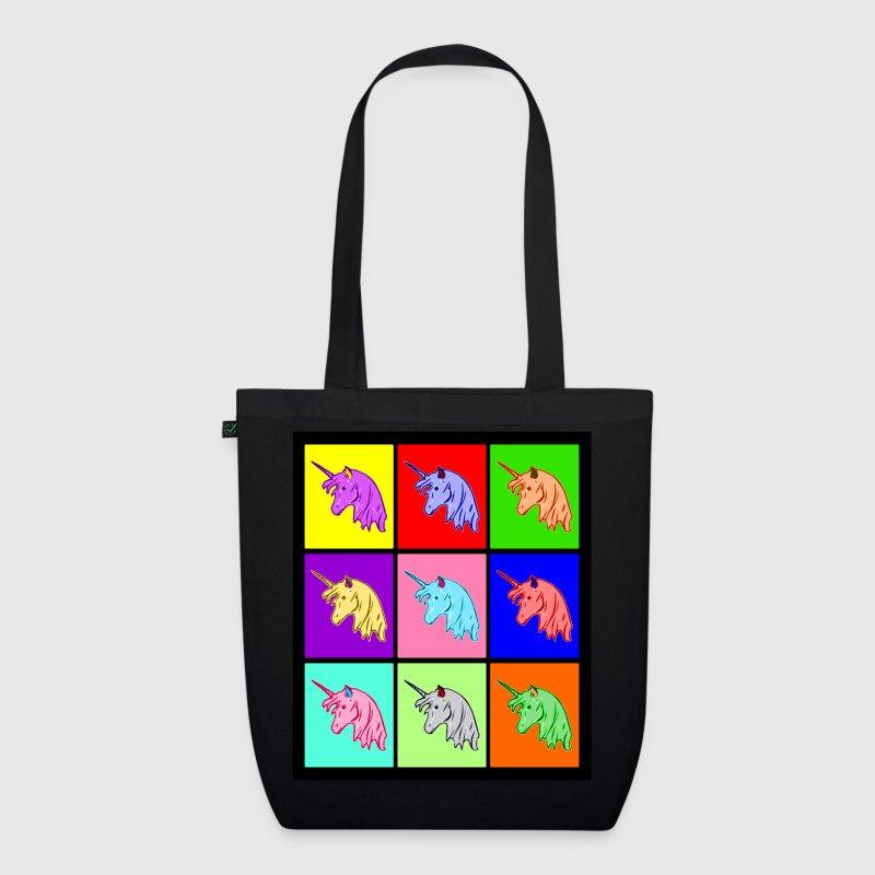 Stoffen Tas Design : Pop art einhorn unicorn stoffen tas spreadshirt