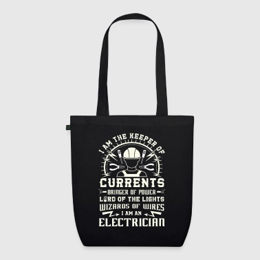 Keeper of Currents Bringer of Power Electrician - EarthPositive Tote Bag