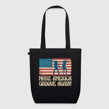 Make America groove again - USA dancing flag - EarthPositive Tote Bag
