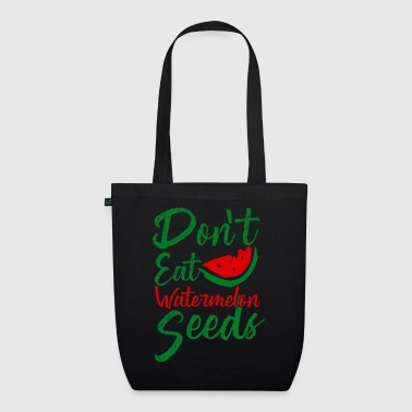 Don't eat Watermelon Seeds - pregnant fruit - EarthPositive Tote Bag