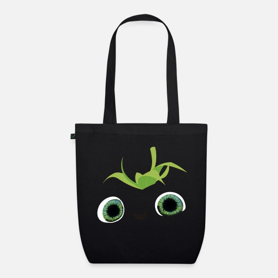Cuddly Bags & Backpacks - tender strawberry - Organic Tote Bag black