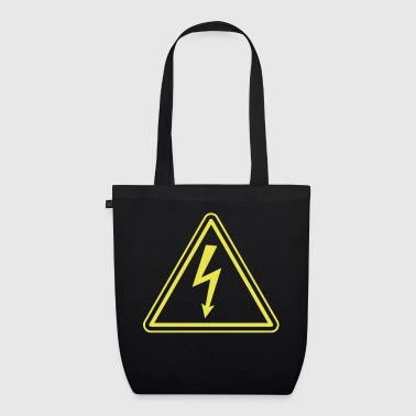 ELECTRICIAN UNDER HIGH VOLTAGE - EarthPositive Tote Bag