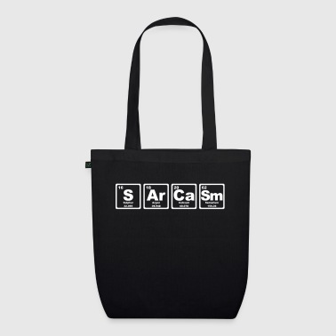 SARCASM PERIODIC TABLE - EarthPositive Tote Bag