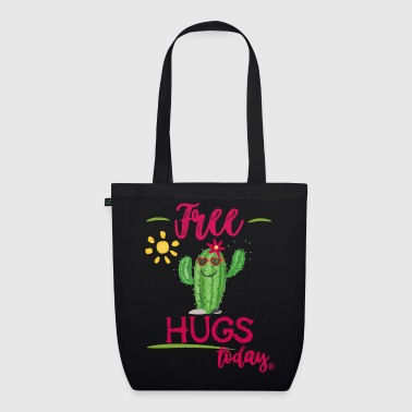 Free hugs today - Kaktus - EarthPositive Tote Bag