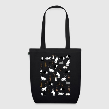 All rabbits - EarthPositive Tote Bag