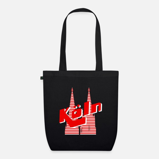 Cologne Cathedral Bags & Backpacks - Cologne - Organic Tote Bag black