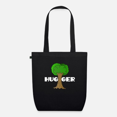 Enviromental Beautiful Nature Tree Tshirt Design Hugger Tree lover Nature Lover - Organic Tote Bag