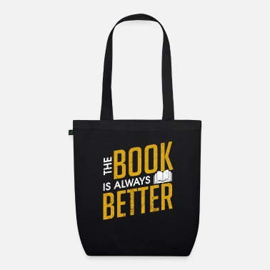 Shop Bookworm Tote bag online | Spreadshirt