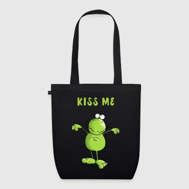 Kiss Me Frosch Kiss Me  - EarthPositive Tote Bag