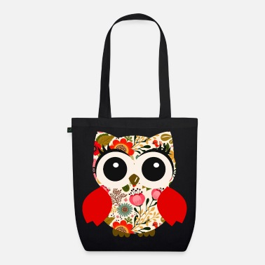 Folklore Owl Folklore - EarthPositive Tote Bag